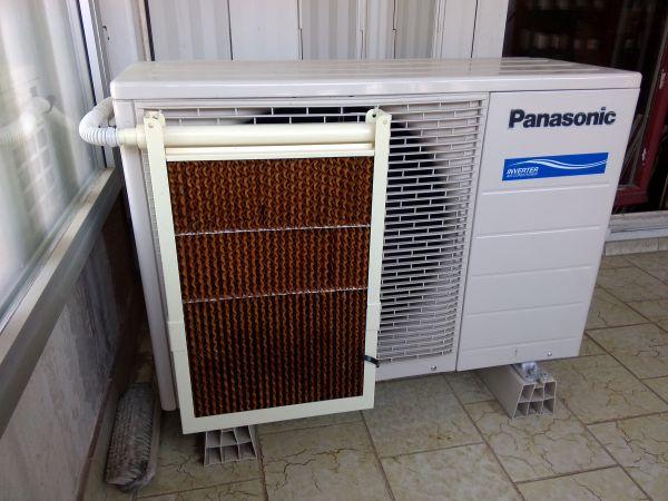 Pose d 39 un vaporateur d 39 eau de condensat sur climatiseur panasonic plan de cuques - Climatiseur a condensation ...